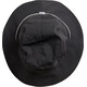 Houdini Bucket Hat rock black